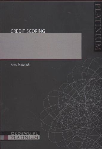 9788360089828: Credit Scoring