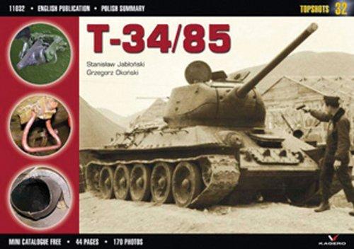9788360445181: T-34/85 (TopShots)