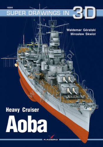 9788360445440: Aoba: Heavy Cruiser (Super Drawings in 3D)
