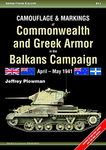 Camouflage & Markings of Commonwealth and Greek Armor in the Balkans Campaign Format: Paperback