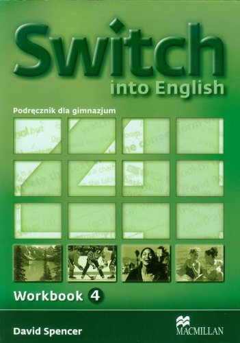 9788360806081: Switch into English 4 Workbook
