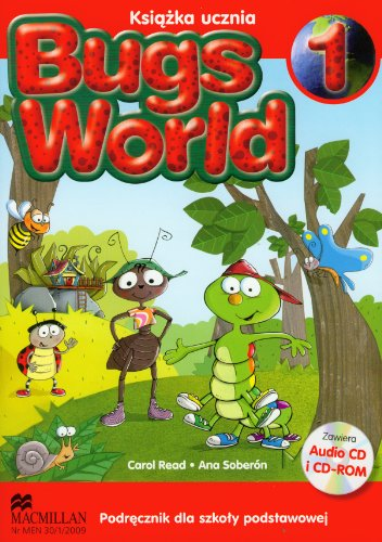 9788360806647: Bugs World 1 Podrecznik z plyta CD