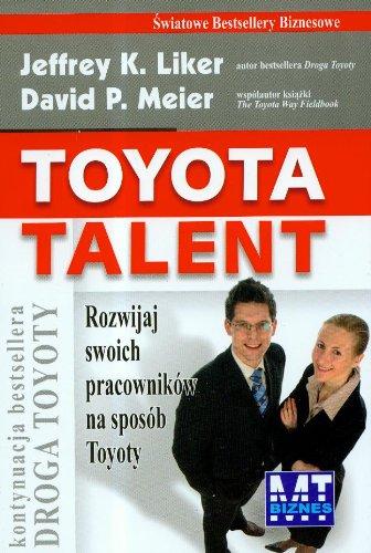 9788361040576: Toyota talent