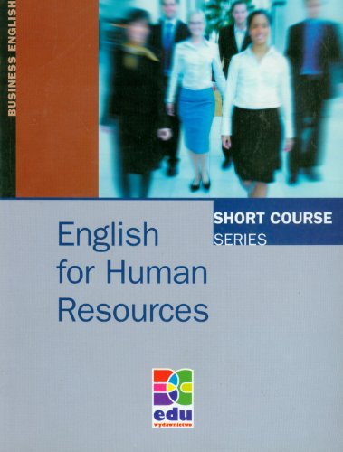 9788361059929: English for Human Resources