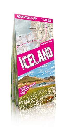 9788361155096: Islandia, mapa de carreteras y de aventura. Plastificado. Escala 1:500.000. TerraQuest. (Adventure Map)