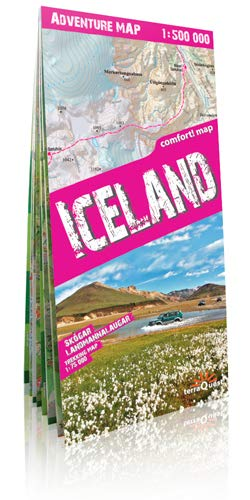 9788361155119: Iceland 1 : 500 000 Adventure Map