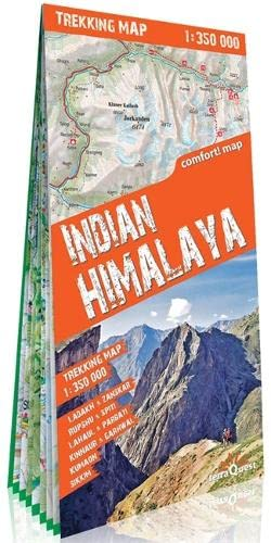 9788361155126: Himalaya indio, mapa excursionista plastificado. Escala 1:350.000. TerraQuest. (Trekking map)
