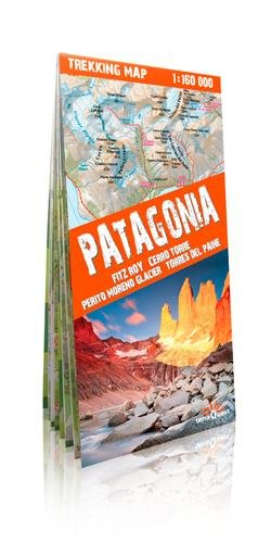 9788361155300: Patagonia Trekking Map 1:160K Waterproof (TerraQuest) (English, Spanish, French, Italian and German Edition)