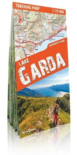 9788361155522: Lago de Garda, mapa excursionista plastificado. Escala 1:50.000. TeraQuest. (Trekking map)