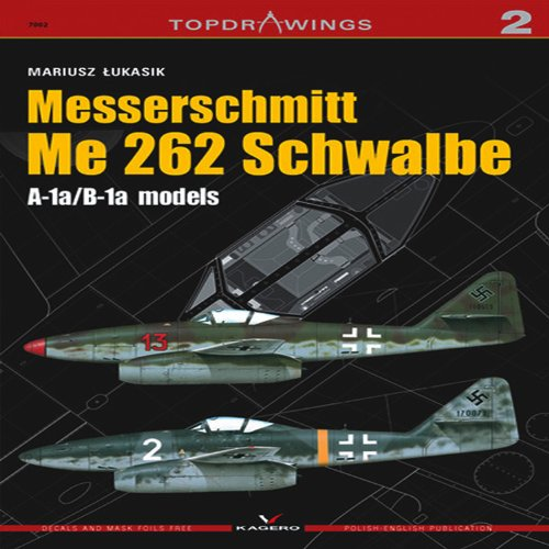 9788361220077: Messerschmitt Me 262 Schwalbe (Top Drawings)