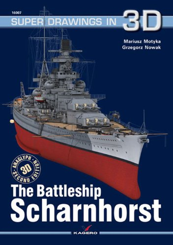 9788361220381: Battleship Scharnhorst (Super Drawings in 3D)