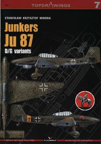 9788361220435: Junkers Ju 87 D/G variants (Top Drawings 7007)