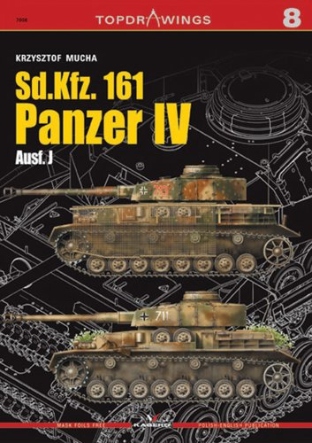 9788361220442: Sd.Kfz.161 Panzer IV Ausf.J (Top Drawings 7008)