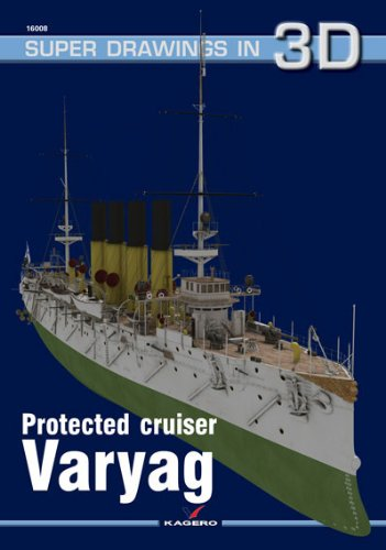 9788361220640: Protected Cruiser Varyag (Super Drawings in 3D)
