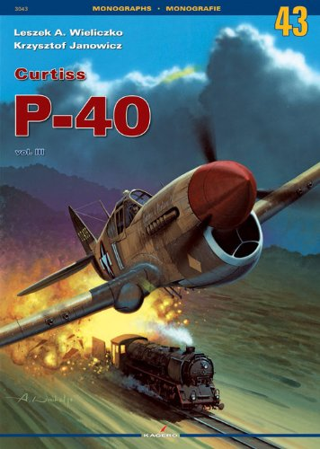 9788361220749: Curtiss P-40 (Monographs)