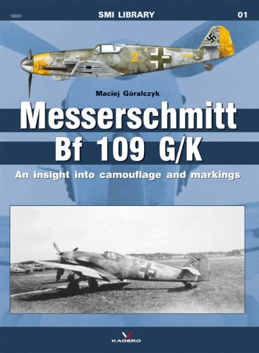 9788361220787: Messerschmitt Bf 109G/K: An Insight into Camouflage and Markings (SMI Library series 19001)