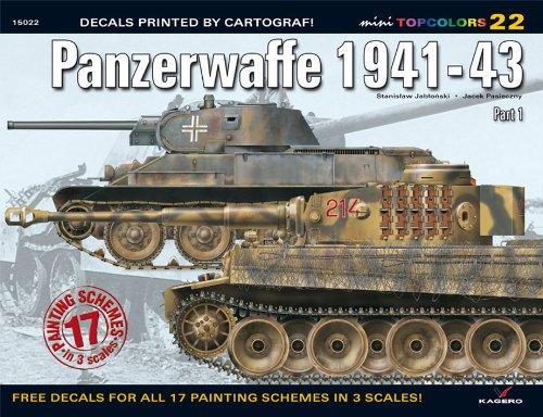 9788361220930: Panzerwaffe 1941-43 (TopColors)
