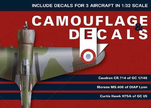 9788361421221: Caudron Cr. 714, MS 406, Hawk H75A (1/32 Scale) (Camouflage & Decals)