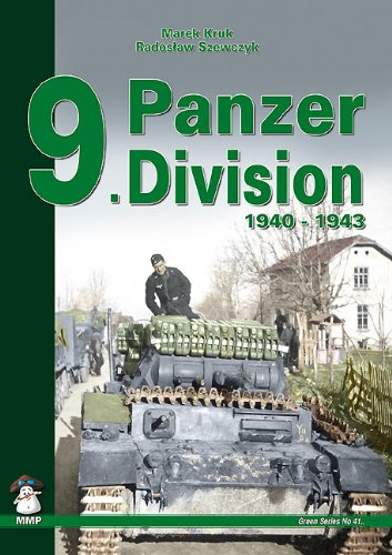 9788361421290: 9. Panzer Division: 1940-1942 (Green)