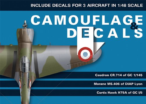9788361421313: Caudron Cr. 714, MS 406, Hawk H75A (1/48 Scale) (Camouflage & Decals)