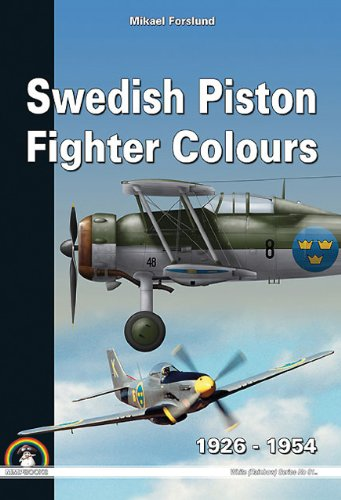 9788361421726: Swedish Piston Fighter Colours: 1925 - 1954 (White Series)