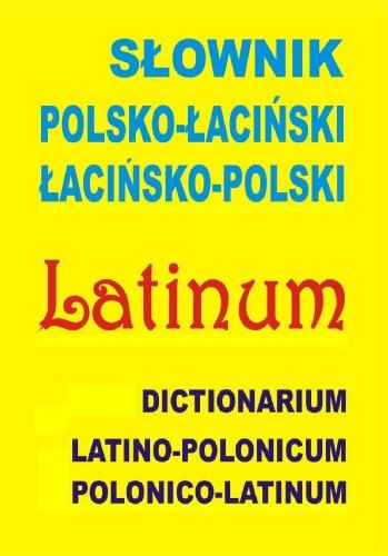 9788361800477: Slownik polsko-lacinski lacinsko-polski