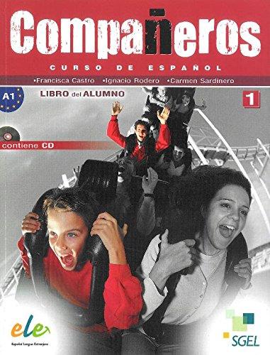 9788362008926: Companeros 1. Podrecznik + CD
