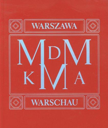 9788362020393: MDM KMA Architektonicza spuscizna socrealizmu Warszawa Berlin