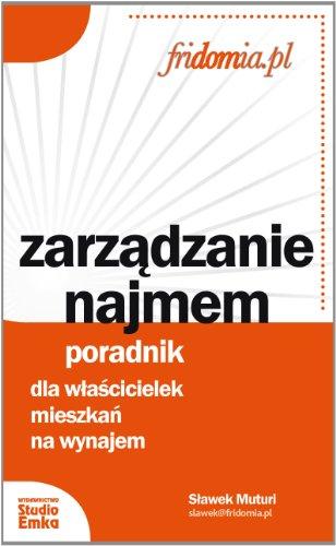 9788362304271: Zarzadzanie Najmem (Polska wersja jezykowa)