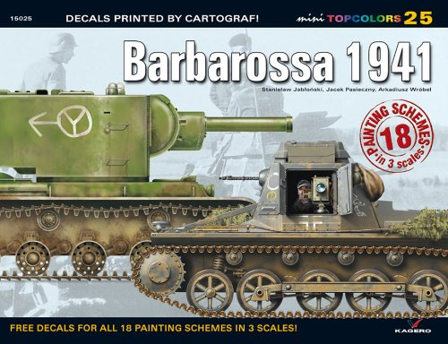 9788362878048: Barbarossa 1941 (Mini Topcolors)