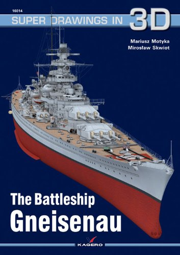 9788362878284: The Battleship Gneisenau (Super Drawings in 3D)