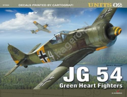 9788362878437: JG 54. Green Heart Fighters (UNITS)