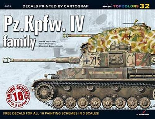 9788362878475: Pz.Kpfw IV Family (Mini Topcolors)