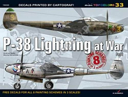 9788362878482: P-38 Lightning at War, Part 2: No. 33 (Mini Top Colors)