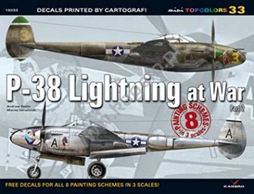 9788362878482: P-38 Lightning at War, Part 2 (Mini Top Colors)