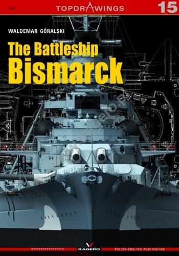 9788362878598: The Battleship Bismarck (TopDrawings)