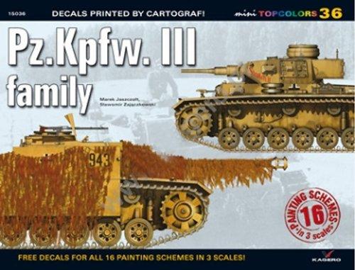 9788362878666: Pz.Kpfw. III family (Mini Topcolors)