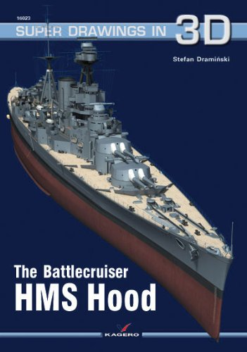 9788362878789: The Battlecruiser HMS Hood (Super Drawings in 3D)