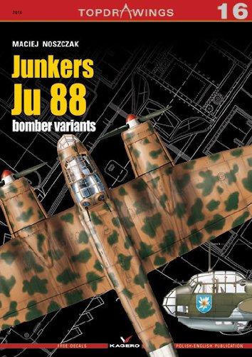 9788362878796: Junkers Ju 88 Bomber Variants (TopDrawings)