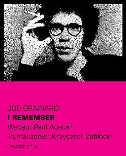 9788363056124: I remember