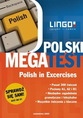 9788363165109: Polski megatest Polish in Exercises: Jezyk polski w cwiczeniach. Poziomy A1, A2 i B1