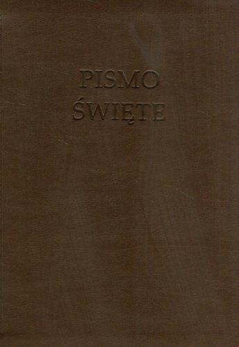 9788363271022: Pismo Swiete Nowa Biblia Gdanska