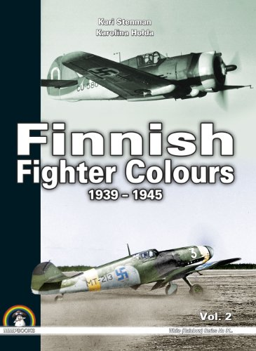 9788363678449: Finnish Fighter Colours 1939-1945. Volume 2 (White Series)