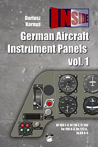 9788363678555: German Aircraft Instrument Panels: Volume 1 (Inside)