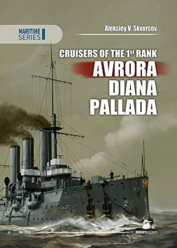 9788363678562: Cruisers of the 1st Rank. Avrora, Diana, Pallada (Maritime Series)