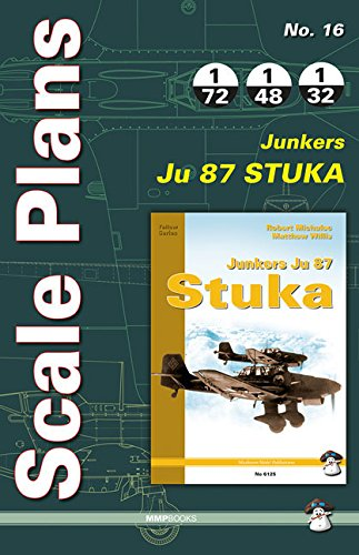 9788363678708: Scale Plans Junkers Ju 87 Stuka