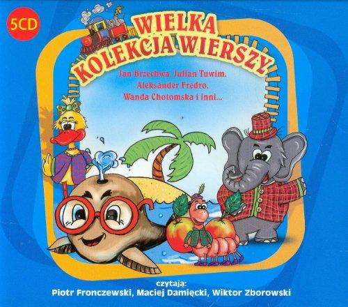 9788363764210: Wielka Kolekcja Wierszy: czytaja: Piotr Fronczewski, Maciej Damiecki, Wiktor Zborowski