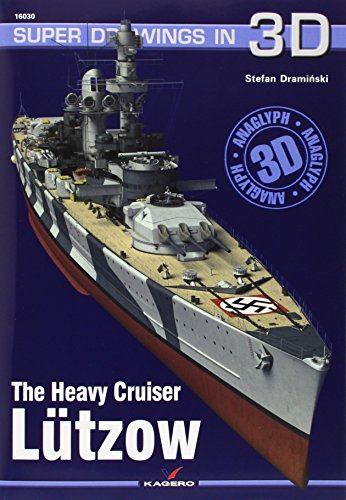 9788364596070: The Heavy Cruiser Lutzow (Super Drawings in 3D)