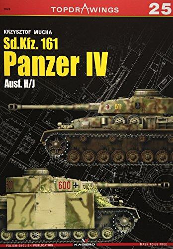 Sd.Kfz. 161 Panzer IV: Ausf. H/J (TopDrawings): Krzysztof Mucha