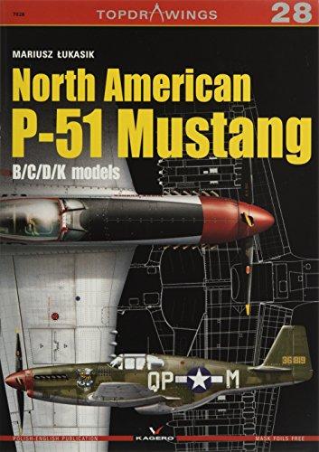 9788364596841: North American P-51 Mustang: B/C/D/K Models (TopDrawings)